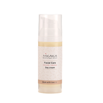Mikaka Day Cream – Camomile & Calendula, 50 ml