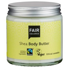 Fair Squared, Shea Body Butter Zero Waste, 100 ml.