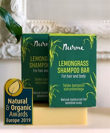 Nurme, Lemongrass Shampoobar for Hair & body, 100 gr.