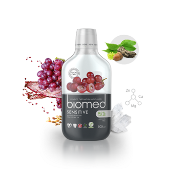 Biomed, Sensitive mundskyld, 500 ml.