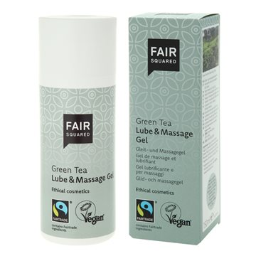 Fair Squared, Green Tea Lube & Massage Gel, 150 ml.