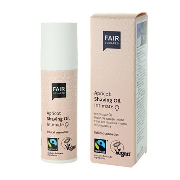 Fair Squared, Apricot Shaving Oil Women,  30 ml.