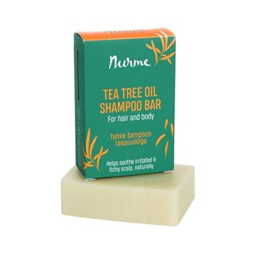 Nurme, Tea Tree Shampoobar for Hair and Body, 1 stk.