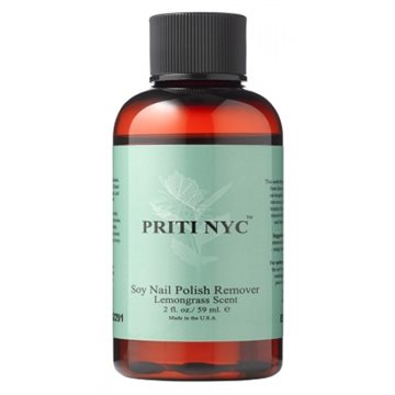Priti NYC, Soy Nail Polish Remover, 59 ml.